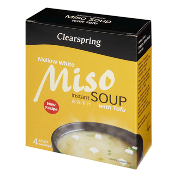 Instant Miso Soup Mellow White med tofu - 40 gram