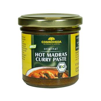 Image of Hot Madras Curry Paste Økologisk - 160 gram