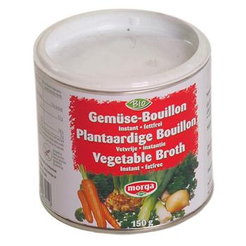Morga bouillonpulver fedtfrit Økologisk - 150 gram