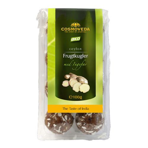 Image of Frugtkugler med ingefær Øko - 100 gram