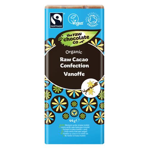 Image of Rå chokolade Vanoffe Creamy Vanilla lys - 44 g
