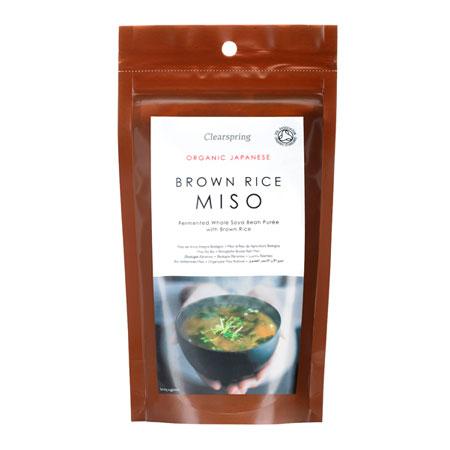 Miso lavet af brune ris Økologisk - 300 gram