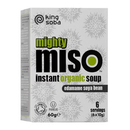 Instant Miso suppe Edamame bønner Øko - 60 gram