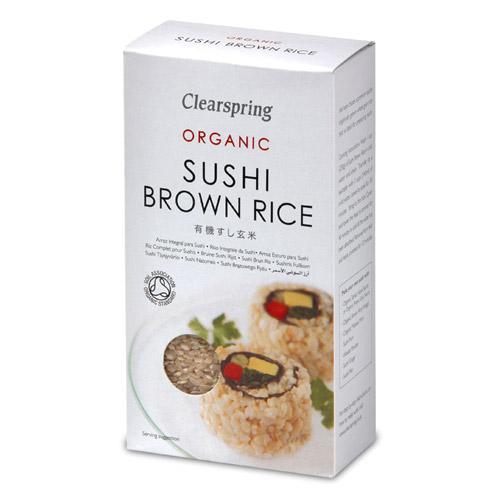 Brune sushi ris Økologisk - 500 gram