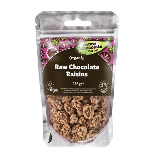 Rosiner med rå chokolade - 100 gram