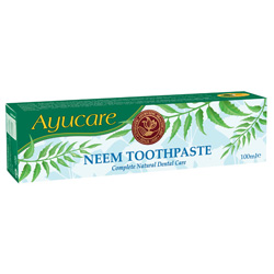 Image of   Urtetandpasta med Neem Ayurveda - 100 ml.