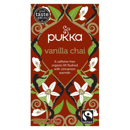 Pukka Vanilla Chai te Økologisk - 20 breve