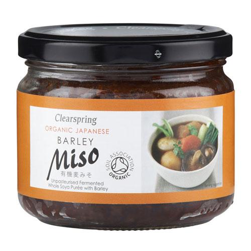 Miso Barley i glas upaseuriseret Økologisk - 300 g