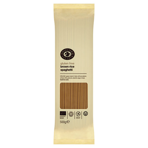 Image of   Brun ris spaghetti glutenfri - 500 gram