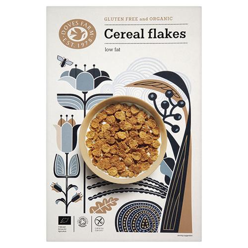 Cereal flakes økologiske glutenfri - 375 gram