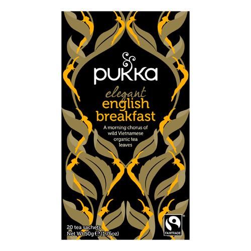 Pukka Elegant English Breakfast te Ø - 20 br.