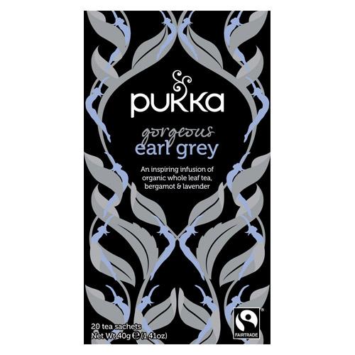Pukka Gorgeous Earl Grey te Ø - 20 breve