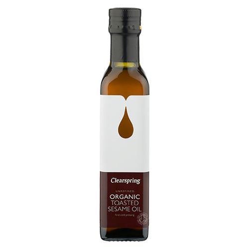 Image of Ristet Sesam olie Økologisk Clearspring - 250 ml