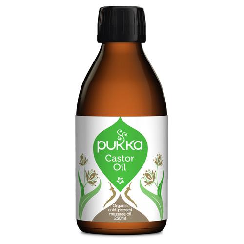 Image of Amerikansk olie (Castor oil) fra Pukka - 250 ml.