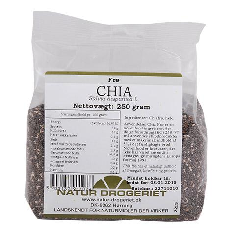 Image of Chia frø fra Naturdrogeriet - 250 gram