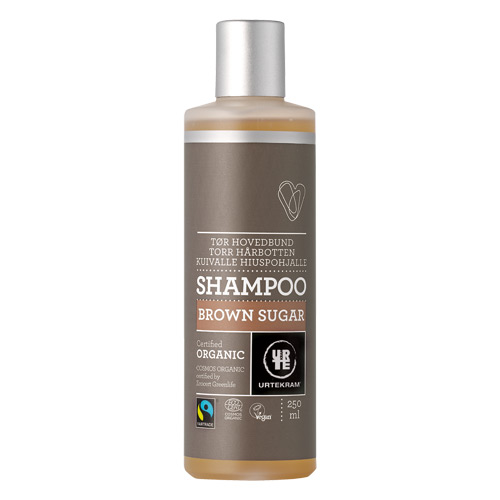 Image of   Brown Sugar Shampoo tørt hår Fair Trade - 250 ml.