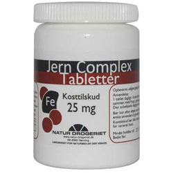 Image of Jern Complex 25 mg. - 100 tabletter