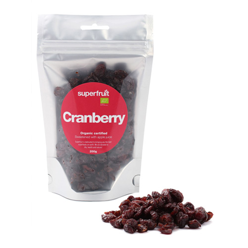 Image of   Tranebær Cranberries Superfruit - 200 gram