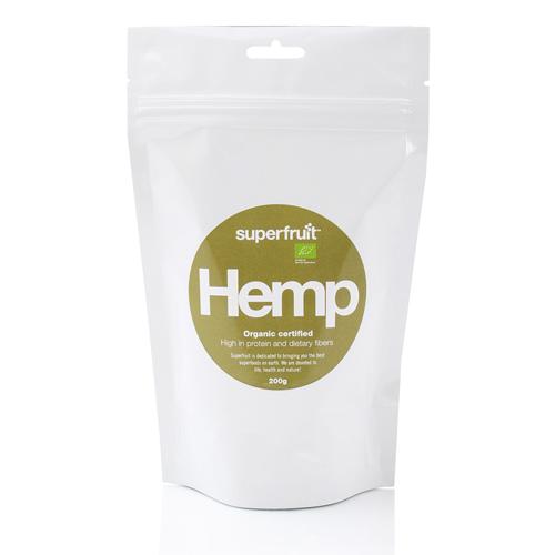 Hampe frø afskallede (hemp seed) Øko - 200 gram