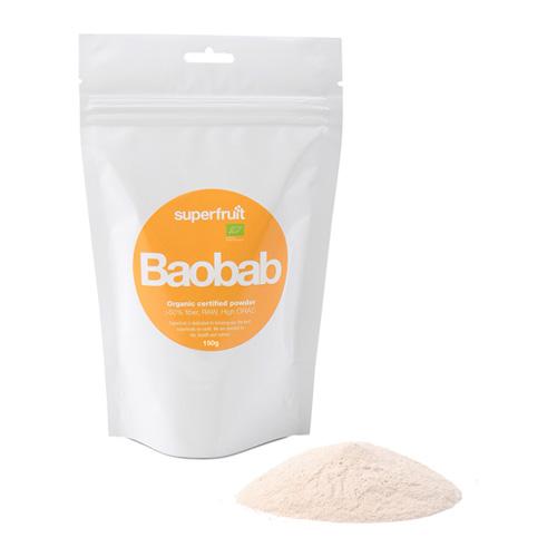 Baobab pulver økologisk fra Superfruit - 150 gram