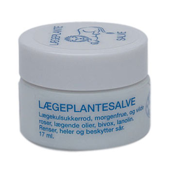 Elizabeth Løvegal Lægeplantesalve - 17 ml.