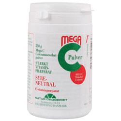 Mega C 700 mg. C-vitamin pulver - 250 gram
