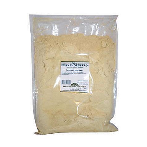 Image of   Bukkehornsfrø pulver fra Natur Drogeriet - 1 kg.