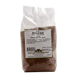 Hørfrø hele rensede fra Natur Drogeriet - 500 gram