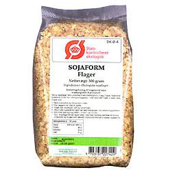 Image of Sojaform flager Økologisk - 300 gram