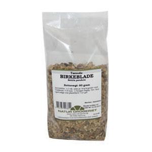Image of Tørrede birkeblade fra Natur Drogeriet - 80 gram