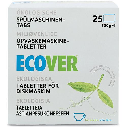 Image of Ecover opvasketabs - 25 tabs