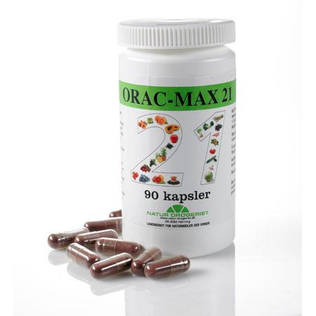 Image of   Orac-Max 21 - 90 kapsler