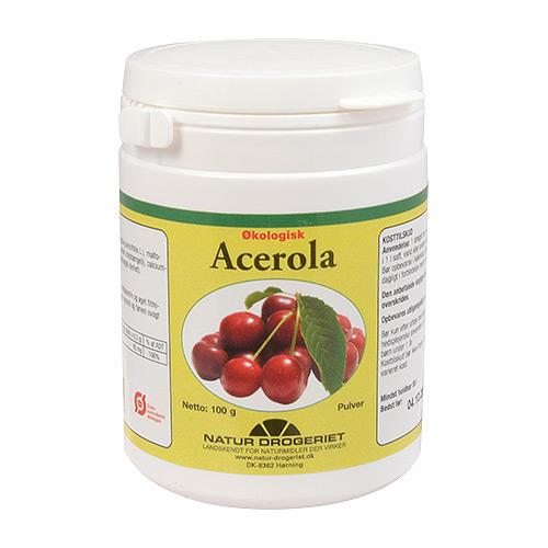 Image of   Acerola C-pulver Økologisk - 100 gram