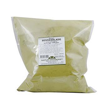 Sennesblade pulver Natur Drogeriet - 1 kg.