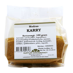 Image of Karry Madras - 100 gram