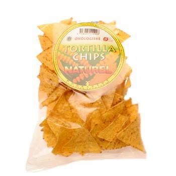 Tortillachips neutral økologiske - 125 gram