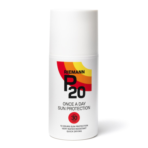 Image of   Riemann P20 Solbeskyttelse SPF 30 spray - 200 ml.