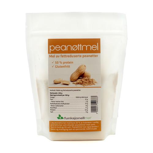 Peanutmel glutenfrit fra Funktionel Mad - 250 gram