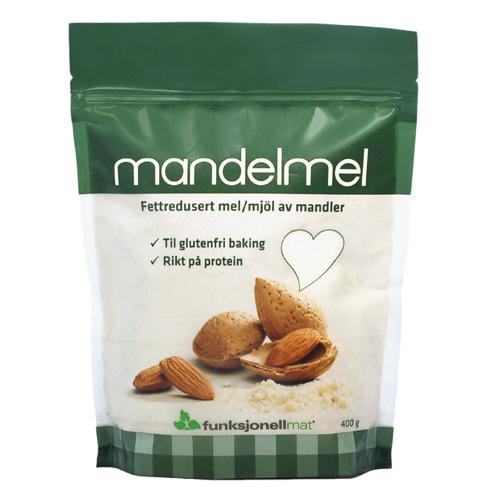 Mandelmel Økologisk - 400 gram