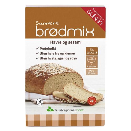 Image of Brødmix havre og sesam - Glutenfri 220 gram