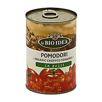 Image of   Tomater hakkede i dåse Økologiske - 400 gr