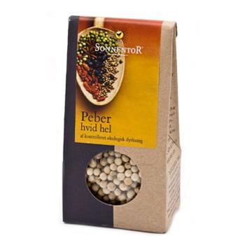 Image of   Peber hel hvid Sonnentor Økologisk - 35 gram