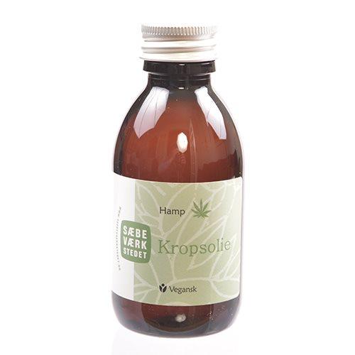 Image of   Sæbeværkstedet Kropsolie med hamp (150 ml)