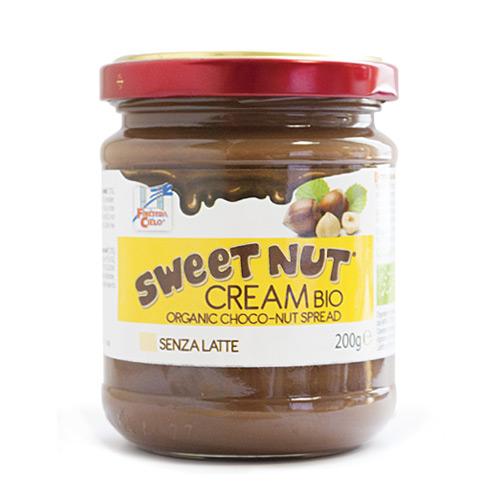 Kakao nøddecreme uden sukker Økologisk - 200 gram