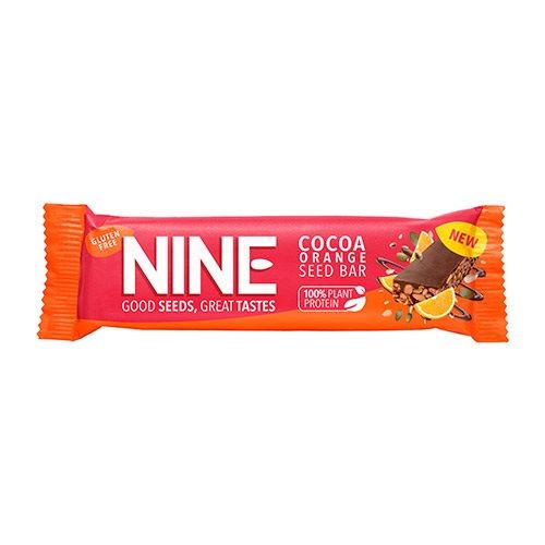 Image of 9Nine Energibar Kakao & Orange (40 g)