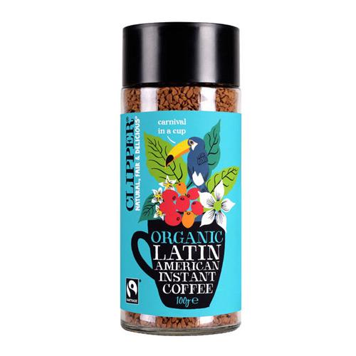 Image of   Instant kaffe Latin Økologisk Clipper - 100 gram