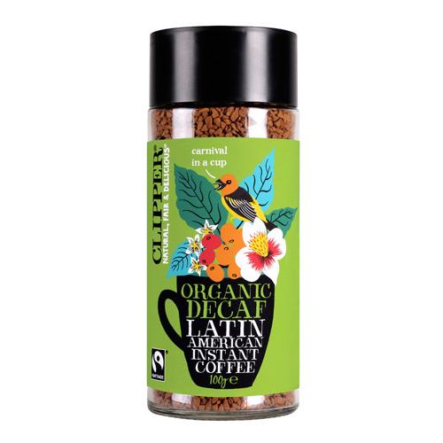 Image of   Instant koffeinfri kaffe Latin Clipper - 100 gram