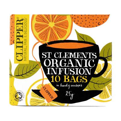 Clipper St. Clemens tea Økologisk - 10 breve