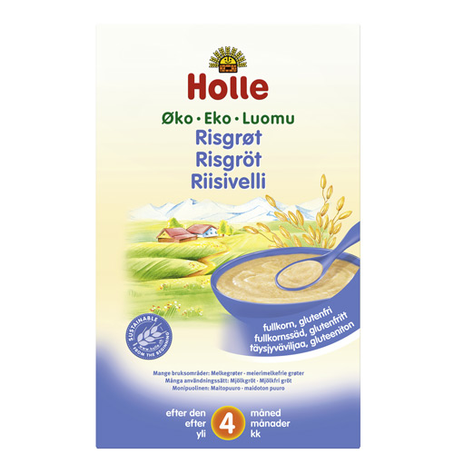 Image of Holle Risgrød økologisk fra 4 måneder 250 gram