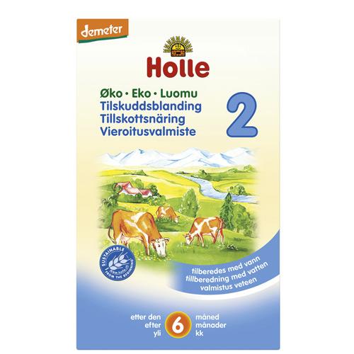 Image of Holle Tilskudsblanding 2 Økologisk - 2x300 gram